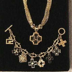 St. John Accessories - St. John Golden Chain Belt